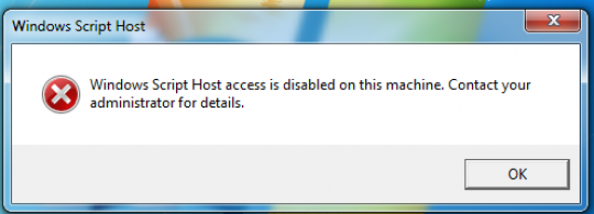 Permalink to Cara Mengatasi Windows Script Host Access is Disabled on This Machine